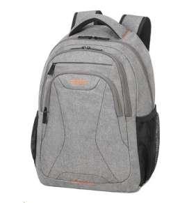 "Samsonite American Tourister AT WORK lapt. backpack 15,6"" Grey/orange"