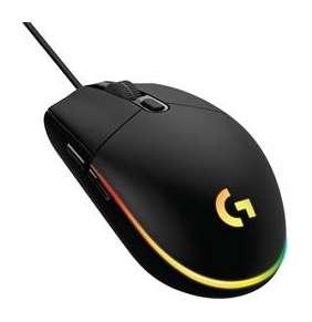 Logitech myš Gaming G102 Lightsync / optická/ 6 tlačítka / 8000DPI - černá