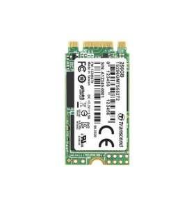 TRANSCEND MTS552T2 256GB Industrial 3K P/E SSD disk M.2, 2242 SATA III 6Gb/s (3D TLC), 560MB/s R, 410MB/s W