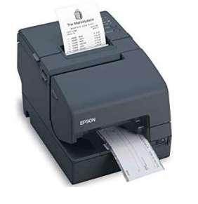 EPSON hybridní pokladní tiskárna TM-H6000V, černá, RS232, USB, LAN + zdroj