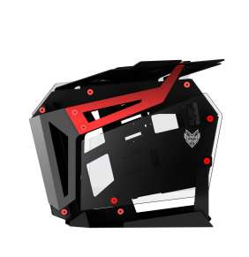 FSP/Fortron T-Wings CMT710, Dual System, Red