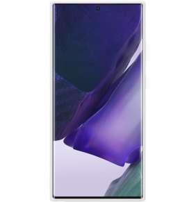 Samsung Silikonový zadní kryt Note 20 Ultra White Silver