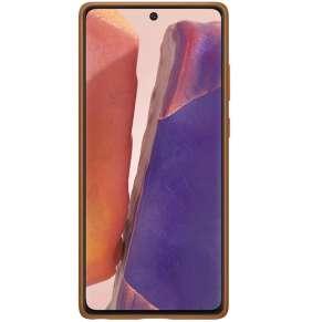 Samsung Kožený zadní kryt pro Note 20 Brown