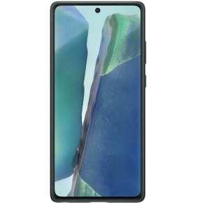 Samsung Kožený zadní kryt pro Note 20 Green
