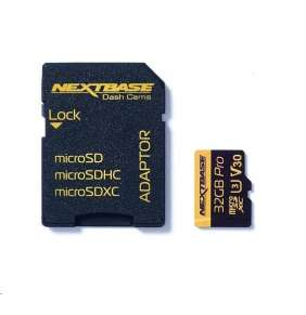 Nextbase - 32GB U3 Micro SD Card with Adapter