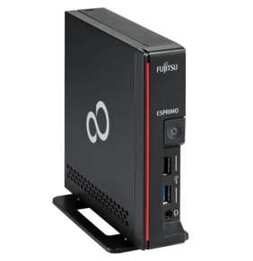FUJITSU PC G558 - I5-9500T@2.2GHz 6C, 8GB-DDR4-2666, 256M2 PCIe NVMe SED, DP, HDMI, W10PR adptér 19V/65W