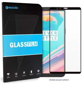 Mocolo 5D Tvrzené Sklo Black Xiaomi Poco F2