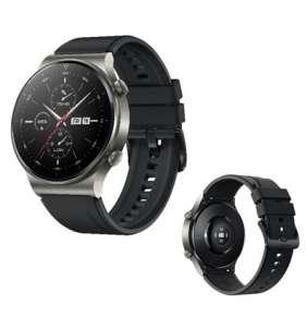 Huawei Watch GT 2 Pro, 46,7 mm, černá / chytré hodinky, fluoroelastomerový řemínek, černá