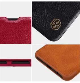 Nillkin Qin Book Pouzdro Xiaomi Redmi 9 Brown