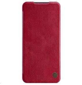 Nillkin Qin Leather Case pro Xiaomi Redmi Note 9 Pro / 9 Pro Max / Note 9S Red