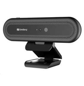 Sandberg USB kamera Webcam Face Recognition 1080P