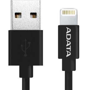 ADATA Lightning kabel MFi 1m černý