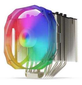 SilentiumPC chladič CPU Fortis 3 EVO ARGB HE1425/ ultratichý/ 140mm fan/ 5 heatpipes/ ARGB/ PWM/ pro Intel i AMD