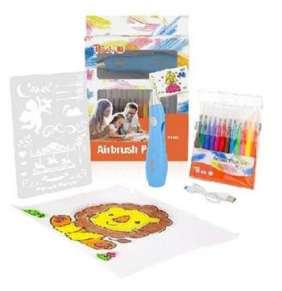 PEACH Elektrický sprejovací kreslící set PO150 pro děti
