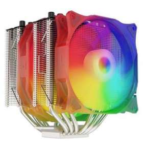 SilentiumPC chladič CPU Grandis 3 EVO ARGB / ultratichý/ 1x140mm a 1x120mm fan/ 6 heatpipes/ PWM/ pro Intel i AMD