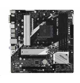 ASRock A520M PRO4 / AMD A520 / AM4 / 4x DDR4 DIMM / M.2 / D-Sub / HDMI / DP / USB-TypeC / mATX