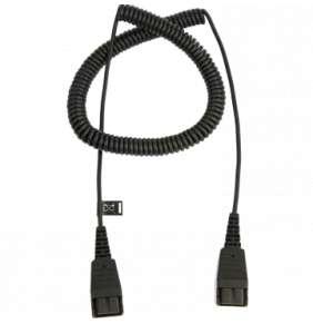 Jabra Extension cord, QD-QD, 0,5-2m, coiled