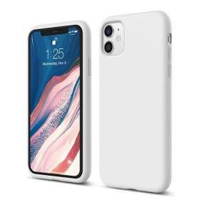 Elago kryt Silicone Case pre iPhone 11 - White