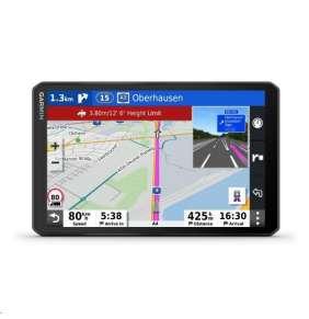 GARMIN navigace s napájeným magnetickým držákem pro kamiony, nákladní a osobní vozy dezl LGV1000T-D Europe45