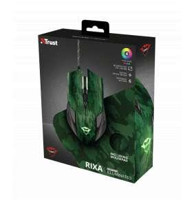 TRUST herní Myš s podložkou GXT 781 Rixa Camo Gaming Mouse & Mouse Pad