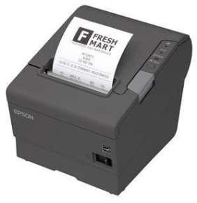EPSON TM-T88V pokladní tiskárna, USB + ether., černá, se zdrojem