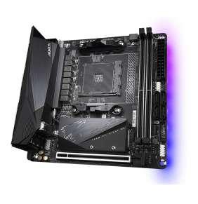 GIGABYTE MB Sc AM4 B550 I AORUS PRO AX, AMD B550I, 2 x DDR4, Wi-Fi, HDMI