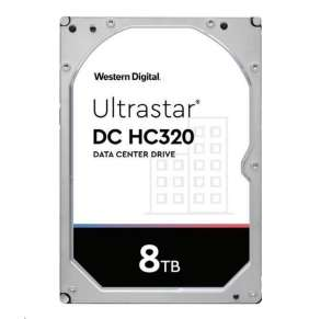 Western Digital Ultrastar® HDD 8TB (HUS728T8TAL5204) DC HC320 3.5in 26.1MM 256MB 7200RPM SAS 512E SE P3 (GOLD SAS)