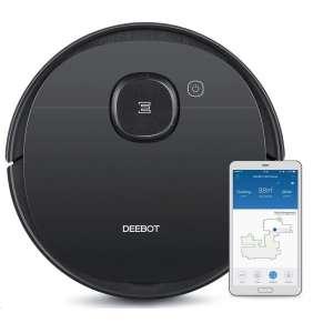 Ecovacs Deebot T8 AIVI, robotický vysavač, Smart Navi+virtuální zdi, Smart Home kompatibilní, OTA