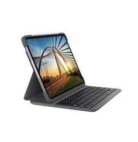 Logitech® Slim Folio Pro for iPad Pro 12.9-inch (3rd and 4th gen) - GRAPHITE - UK - INTNL