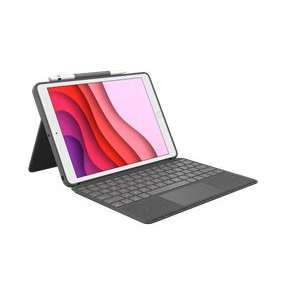 Logitech® Combo Touch for iPad (7th generation) - GRAPHITE - UK - INTNL