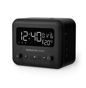 ENERGY Clock Speaker 2 Bluetooth Graphite, All-in-one radiobudík se dvěma alarmy, FM rádiem a výstupem na sluchátka, BT