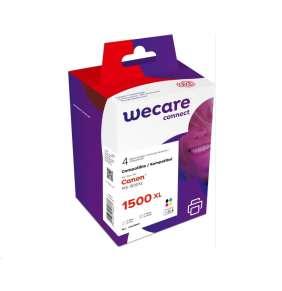 WECARE ARMOR cartridge pro CANON, MAXIFY MB2050/2350/2750 Black+C+M+Y (PGI1500XG) 1x48ml + 3x17ml