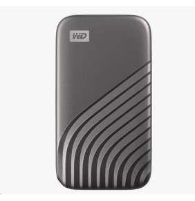 SanDisk WD My Passport SSD externí 2TB , USB-C 3.2 ,1050/10000MB/s R/W PC & Mac ,Space Gray