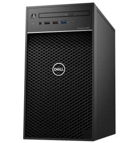 Dell Precision 3640 Tower i7-10700/16GB/256GB SSD+1TB/P1000-4GB/DVD-RW/W10P/3RNBD/Černý