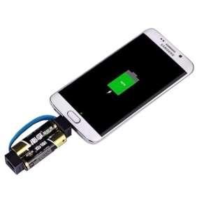 VIKING POWER BANK MZ1, Univerzální nabíječka micro USB drobné elektroniky na tužkové baterie AA, Mod