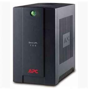 APC Back-UPS 700 VA, 230 V, AVR, USB, Schuko-Ausgänge
