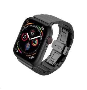 COTEetCI ocelový pásek pro Apple Watch 38 / 40mm černý