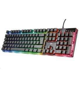 TRUST herní klávesnice GXT 835 Azor Illuminated Gaming Keyboard