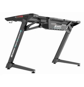 Sandberg herní stůl Fighter 2, černá