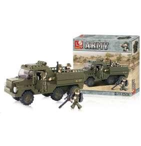 Sluban B-0301 Vojenský náklaďák 230 dílků