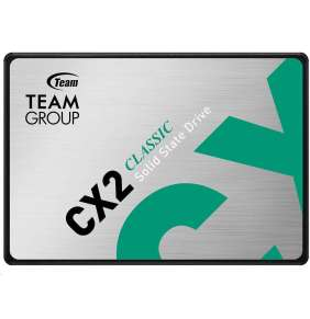 "Team SSD 2.5"" 256GB CX2 (R:520, W:430 MB/s)"