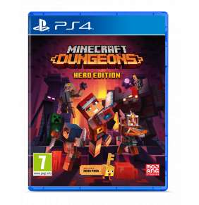 PS4 - Minecraft Dungeons ( Hero Edition )