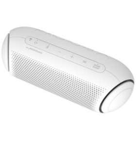 LG PL5W Bluetooth přenosný reproduktor bílý