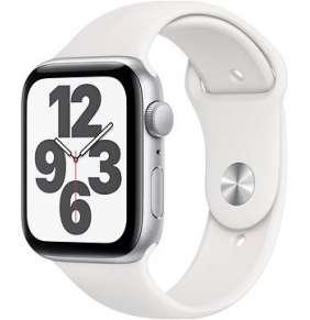 Apple Watch Series SE 40mm Silver se sportovním řemínkem