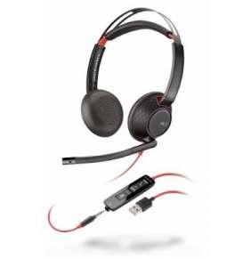 POLY náhlavní souprava BLACKWIRE C5220, 3,5 mm jack, USB, stereo