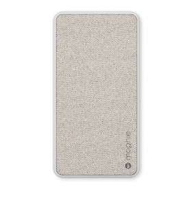Mophie powerstation plus 6K universal battery with Lightning - Heather grey