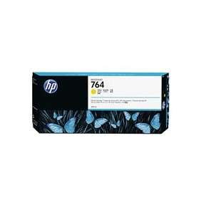 HP 764 Yellow Ink Cart, 300 ml, C1Q15A