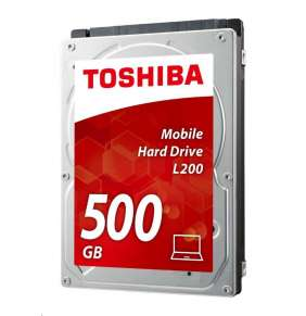 Toshiba HDD L200 2.5'', 500GB, SATA3, 8MB cache, 5400RPM
