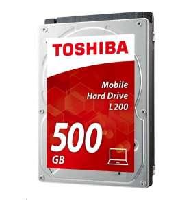 "Toshiba HDD Mobile  L200, 500GB 5400rpm, 8 MB, SATA 3Gb/s, 2.5"" slim"