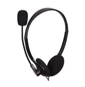 GEMBIRD sluchátka s mikrofonem MHS-123, černá